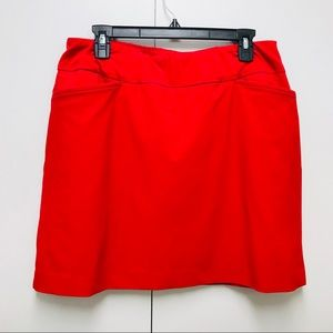 Tail Woman's Red Tennis Skirt Size 12